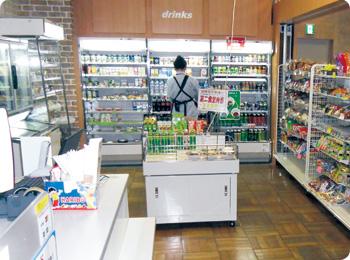 新しい店舗と食堂 2011